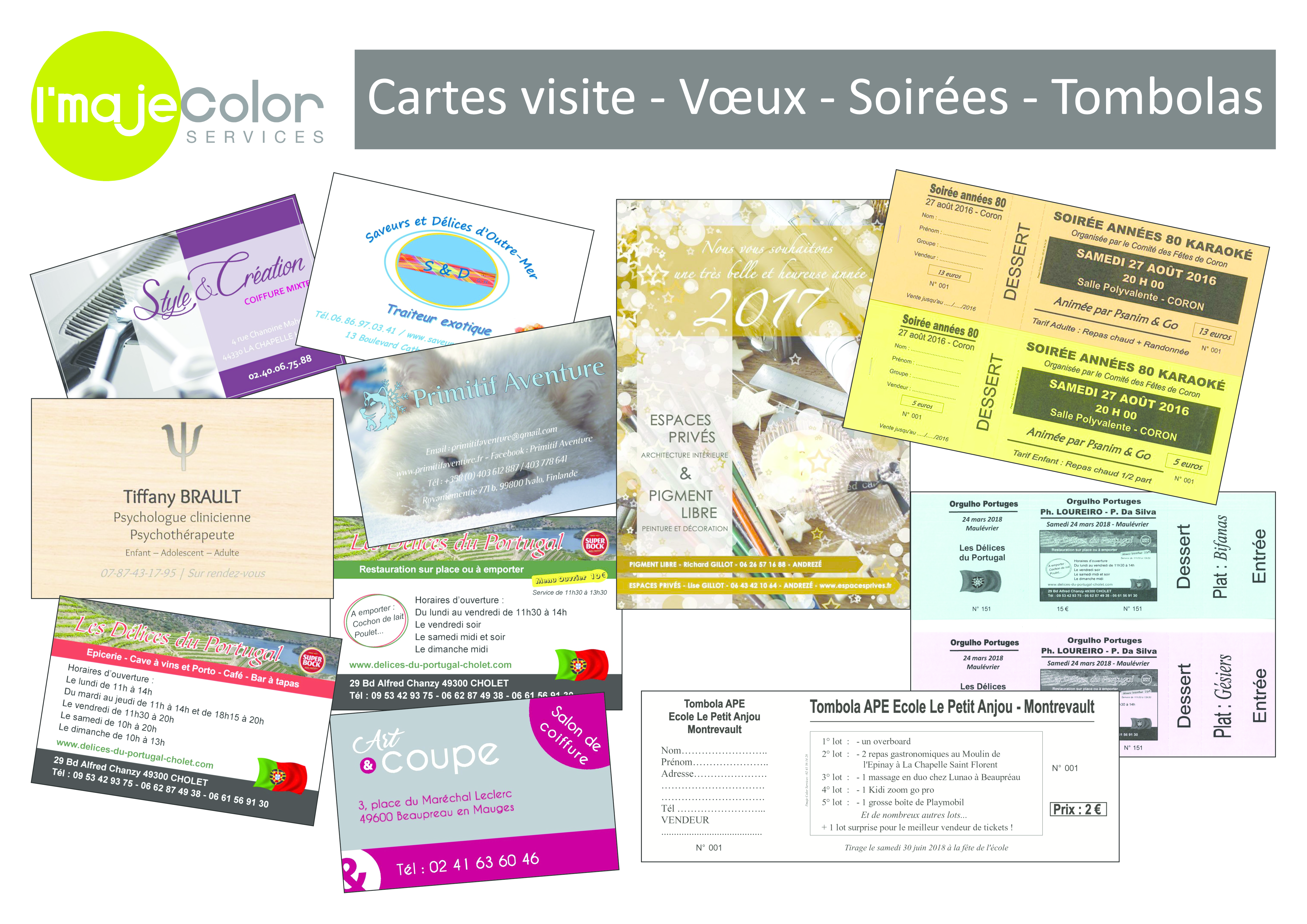 Cartes De Visites Postales Faire Parts Invitations Soires Tombolas Banderoles Roll Up Panneaux Pvc Ou Dibon